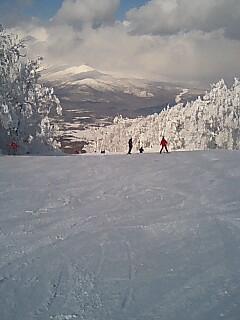 スキー万歳
